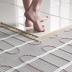 Inštalácia podlahového vykurovanie