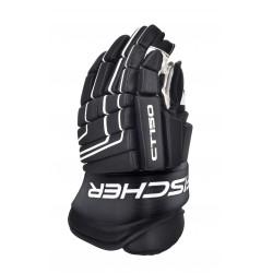 Čierne rukavice na hokej