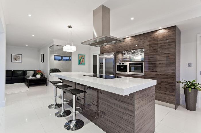 Moderný a vkusný dizajn kuchyne